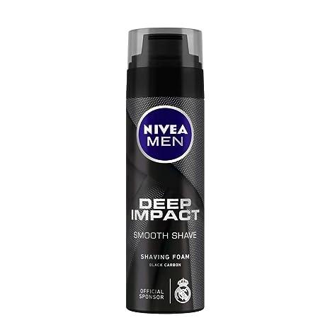 Nivea Men Deep Impact Smooth Shave Shaving Foam, 200ml