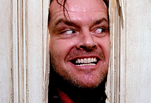 Jack Nicholson Poster The Shining Color Print