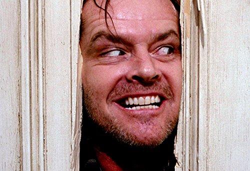 Jack Nicholson Poster The Shining Color Print