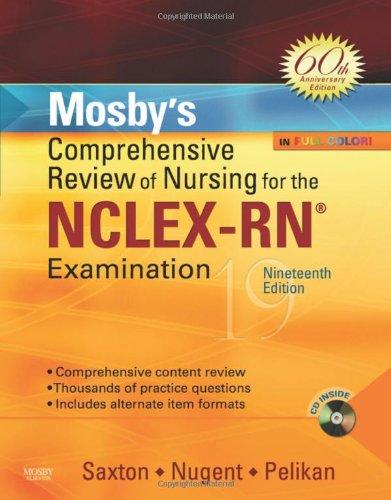 Mosby's Comprehensive Review of Nursing for NCLEX-RN Examination, 19e