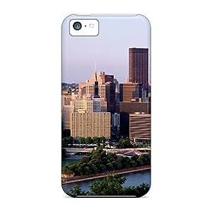 For iphone 5c Premium Tpu Case Cover Skyline 6 Protective Case WANGJING JINDA