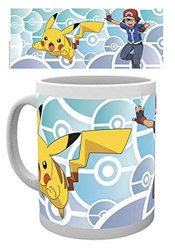 Taza de cafe de ceramica de Pokemon, te elijo