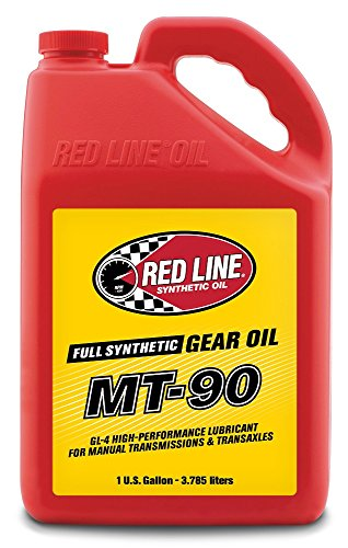 Red Line 50305 MT-90 75W90 GL-4 Gear Oil - 1 Gallon (Manual Transmission Gear)