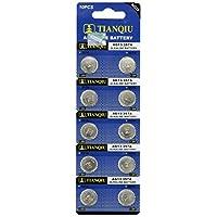 50 pilas de botón alcalinas AG13 /LR44 /A76
