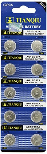 50 x AG13/LR44/A76 Alkaline button cell battery
