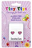 STUDEX Tiny Tips Stud Earrings Hypoallergenic for