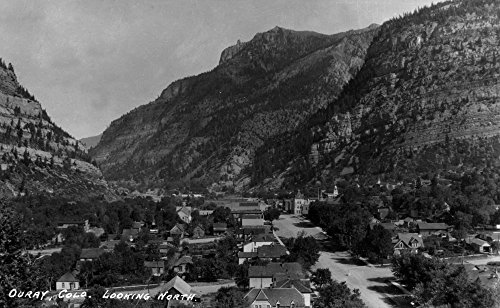 Ouray, Colorado - Northern View from Town Photograph Giclee Gallery Print, Wall Decor Travel