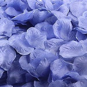 Clearance Sale!DEESEE(TM)200pcs Silk Rose Petals Artificial Flower Wedding Favor Bridal Shower Aisle Vase Decor Confetti 92