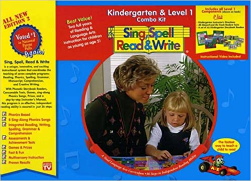 Amazoncom Kindergarten Level 1 Combo Kit Second Edition Sing