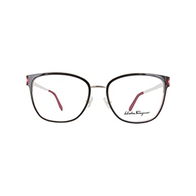 e034e19b385 Image Unavailable. Image not available for. Color  Eyeglasses FERRAGAMO  SF2150 251 BROWN-SHINY GOLD