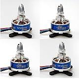 4pcs Dynam Tomcat M35081 TC-M-4308-1-KV380 brushless outrunner motor combo For RC Quadcopter Multicopter