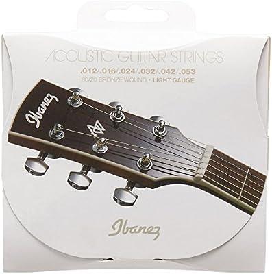 Ibanez IACS6C - Juego cuerdas para guitarra acústica: Amazon.es ...