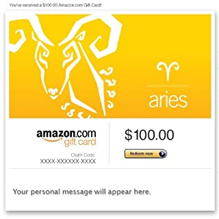 Amazon Gift Card - Email - Birthday (Aries: Mar. 21-Apr. 19) (B00DNHKYPS) | Amazon price tracker / tracking, Amazon price history charts, Amazon price watches, Amazon price drop alerts