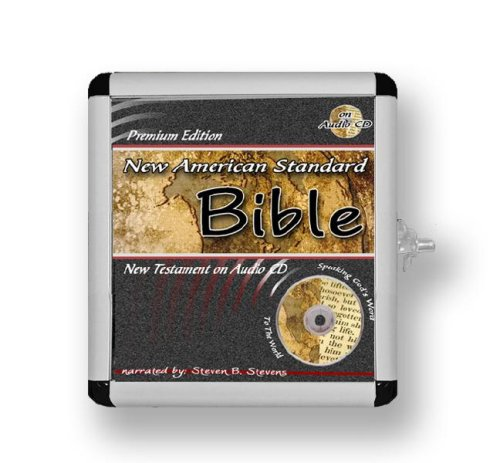 New American Standard Bible New Testament - NASB on CD - in a Metal Case