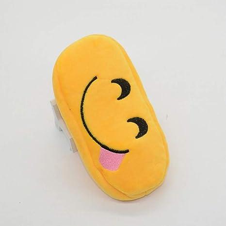 TRHRJI Estuche para lápices Emoji Estuche para lápices Estuche Escolar School Kawaii Estuches para Lapices Box Papeterie, Estuche para lápices D