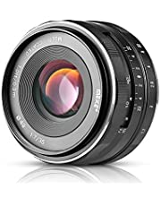 Meike MK 35mm f 1.7 Grote Diafragma Handmatige Nadruk Lens APS-C voor Fujifilm X-Mount Spiegelloze Camera (Fuji) …