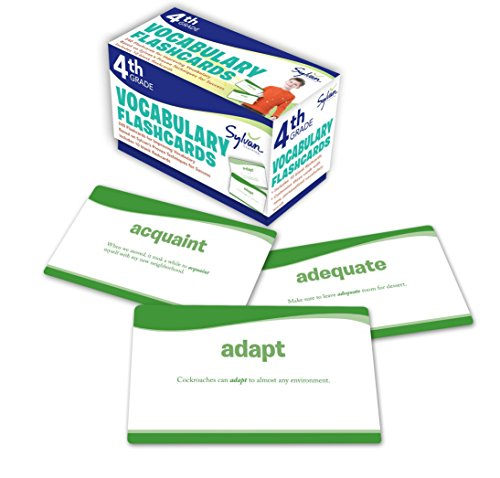 D0wnl0ad 4th Grade Vocabulary Flashcards: 240 Flashcards for Improving Vocabulary Based on Sylvan's Proven Te K.I.N.D.L.E