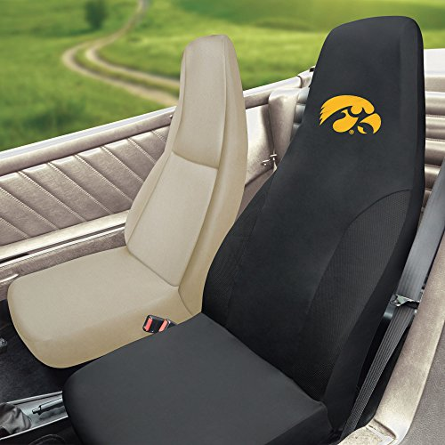 FANMATS NCAA University of Iowa Hawkeyes Polyester Seat Cover