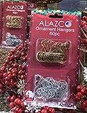 ALAZCO 120pcs Silver & Gold Swirl Decorative
