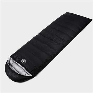Glorious Moonlight Envelope Stitching, Black,Saco de Dormir Ligero Saco de Compresión Cálido Saco de Dormir Confort Portátil: Amazon.es: Deportes y aire ...