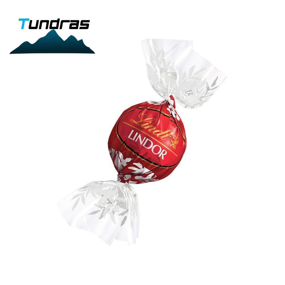 Lindt Lindor Assorted Chocolate Truffles 8-12 Flavors 100 Count In A Deluxe Gift Box by Lindt
