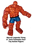 "Review: Marvel Legends Thing 6"" Inch Fantastic Four Toy Action Figure"