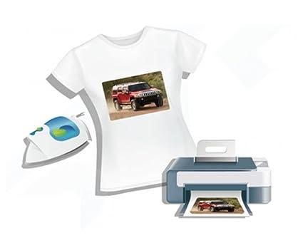 0fff090ab7 Papel de impresión para camisetas – A4 – Transferencia de lavabo sobre  eslabones Col Hierro de