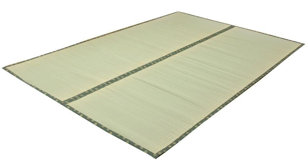 イケヒコ い草 上敷き カーペット 3畳 フリーカットタイプ 『F竹』 江戸間3畳 (約176×261cm) 裏:ウレタン張り) B0015PNPNS 176×261cm