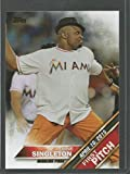 2016 Topps First Pitch #FP-20 Irone Singleton Miami Marlins Baseball Card