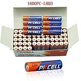 AAA 1.5V LR03 E92 AM4 MN2400 Alkaline Batteries 1600Pcs