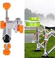 Bilateral Fishing Rod Holder 25mm Diameter Fishing Chair Cube Durable Stable Fishing Chair Accessories