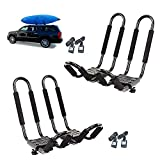 Mrhardware A02 Pairs Snowboard Kayak Carrier Boat Canoe Surf Ski Board Roof...