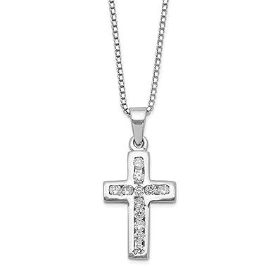 Cross Cube Pendant Necklace Chain Bracelet 925 Sterling Silver Womens Jewellery