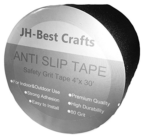 Anti-Slip Grip Tape - Non-Slip Weatherproof Indoor or Outdoor, Highest Traction 4-Inch x 30 Feet by JH-Best Crafts (Image #8)