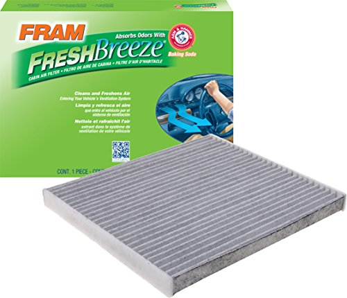 FRAM CF12000 Fresh Breeze Cabin Air Filter with Arm & Hammer - Air 200 Air