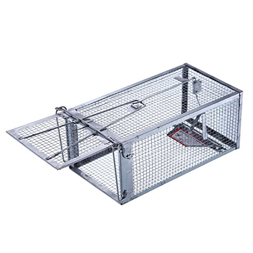 Trapro Humane Live Small Animal Trap Cage for Chipmunk, M...