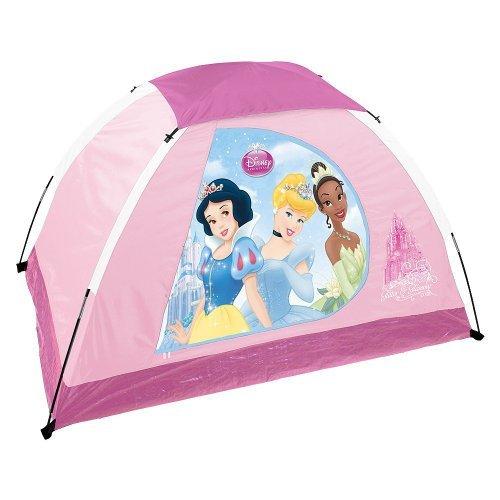 "Disney Youth Princess 2 Pole Dome Tent with Zip ""D"" Doors, 5-Feet x 3-Feet x 36-Inch, Outdoor Stuffs"