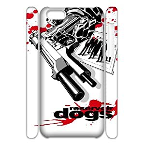 WJHSSB Cover Custom Reservoir Dogs Phone 3D Case For Iphone 5C [Pattern-4]