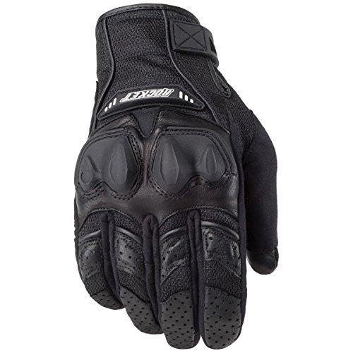 Rocket Black Joe Mesh Glove (Joe Rocket 1056-1003 Men's Phoenix 4.0 Motorcycle Riding Gloves (Black/Black/Black, Medium))
