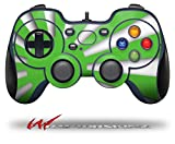 Rising Sun Japanese Flag Green - Decal Style Skin fits Logitech F310 Gamepad Controller (CONTROLLER SOLD SEPARATELY)