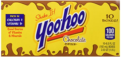 Yoo Hoo Chocolate Drink, 6.5 oz Boxes (10 ct) by Yoo Hoo