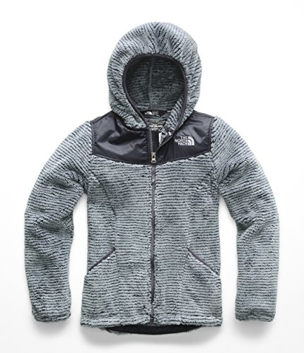 - The North Face Kids Girl's OSO Hoodie (Little Kids/Big Kids) Mid Grey/Periscope Grey Stripe X-Small