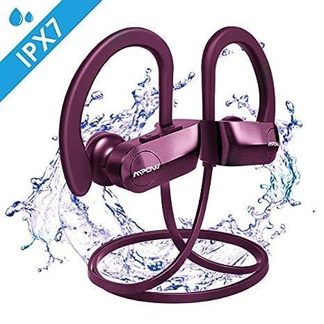 Mpow D7 Auriculares Inalámbricos, 10-12 Horas de Tiempo de Juego ...