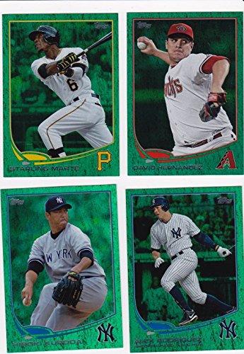 (2013 Topps Emerald #303 Alex Rodriguez MLB Baseball Trading)