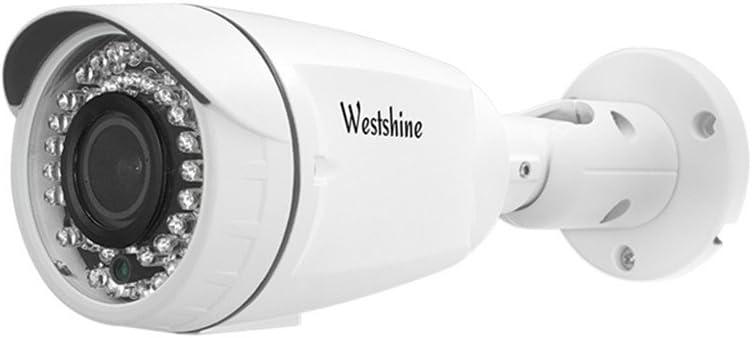 Opinión sobre Westshine Home Security Bullet Camera 1080P 2.8-12mm Lente varifocal cámara Bullet 4 en 1 AHD/TVI/CVI/CVBS cámara IR Cut 42 Leds visión Nocturna Home Indoor Outdoor Cameras