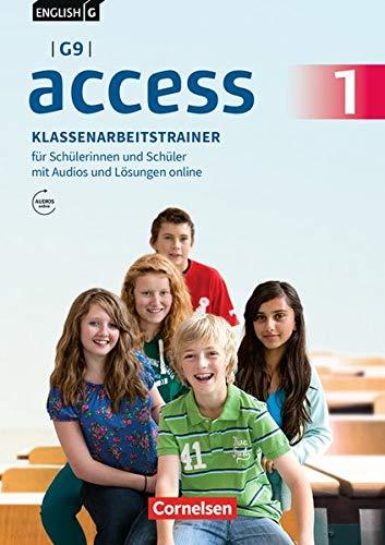English G Access - G9 - Ausgabe 2019: Band 1: 5. Schuljahr - Klassenarbeitstrainer mit Audios und Lösungen online