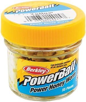Berkley Bio Naturköder Honey Worm künstliche Bienenmaden verschiedene Farben