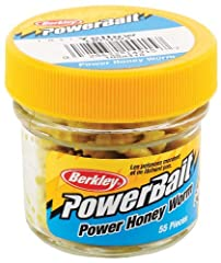 Berkley PowerBait makes novice anglers good and good anglers great! Berkley scientists have spent over 25 years perfecting an irresistible scent and flavor - the exclusive PowerBait formula. Fish love PowerBait so much they hold on 18 times l...