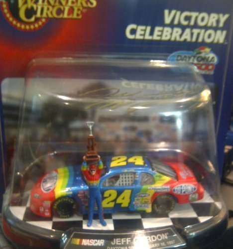 - Winner's Circle Jeff Gordon Daytona 500 February 16, 1997 Victory Celebration 1/43 Scale with Display and Figure NASCAR by Nascar Chevrolet