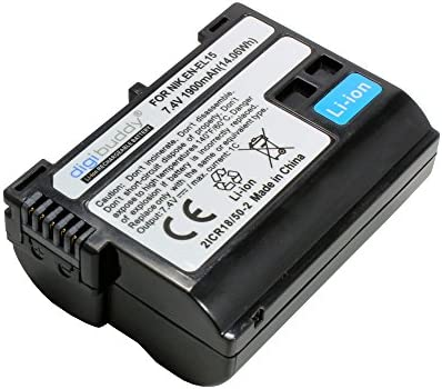 Batería para Nikon D7500, 1900mAh, substituye: Nikon EN-EL15 ...